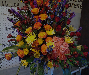 large flower bouquet