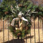 Christmas outdoor gate design