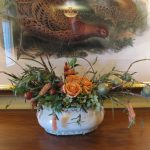 Silk-artificial floral design (1)