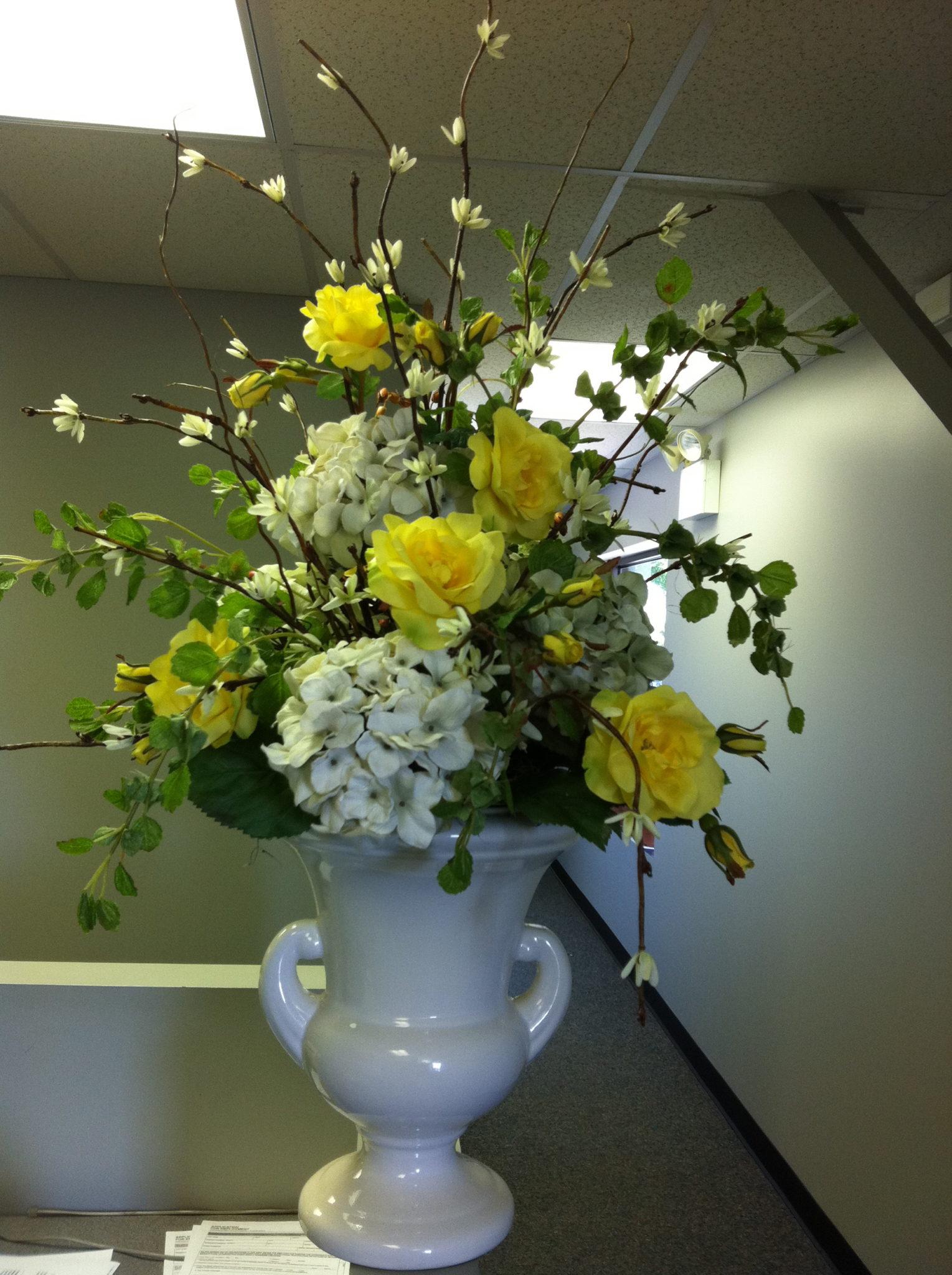 Silk-artificial floral design (11)