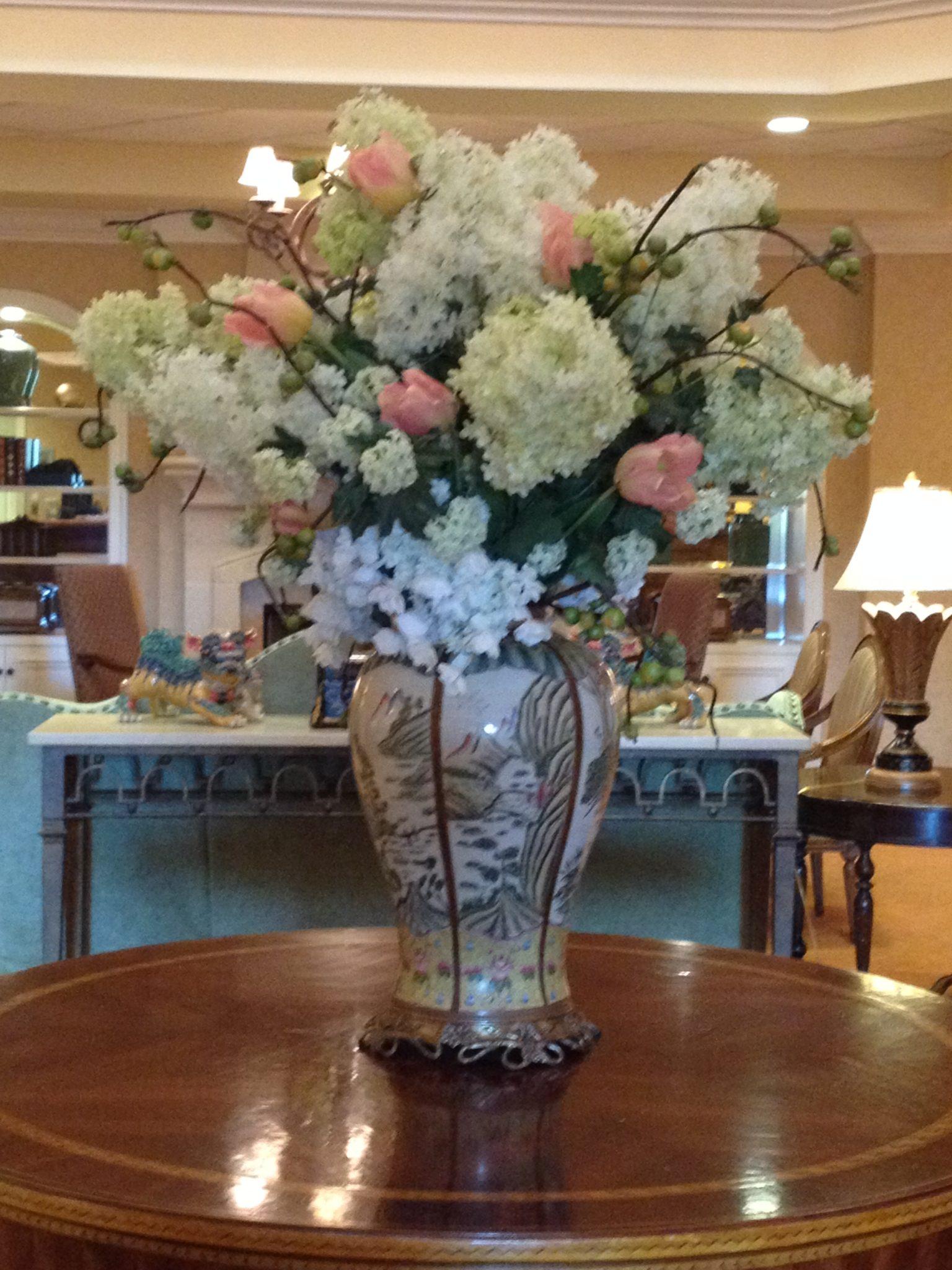Silk-artificial floral design (13)