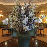 Silk-artificial floral design (14)