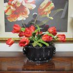 Silk-artificial floral design (3)