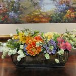 Silk-artificial floral design (4)