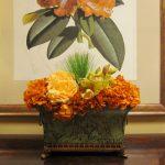 Silk-artificial floral design (6)