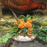 Silk-artificial floral design (7)