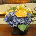 Silk-artificial floral design (8)